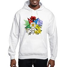 OES Floral Emblem Hoodie