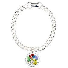 OES Floral Emblem Bracelet