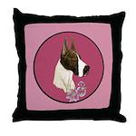 Mantle Great Dane design Throw Pillow