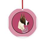 Mantle Great Dane design Ornament (Round)