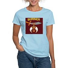 SHRINER round car magnet T-Shirt