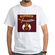SHRINER round car magnet Shirt