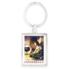 Cinderella_RED Portrait Keychain