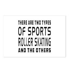 Roller Skating Designs Postcards (Package of 8)