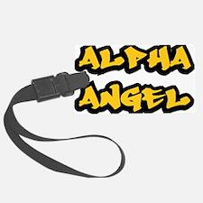 Alpha Angel Graffiti Luggage Tag