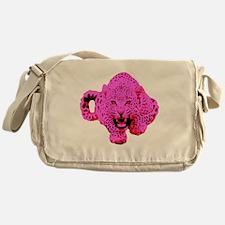 Pink Leopard Messenger Bag