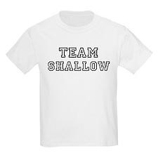 Team SHALLOW Kids T-Shirt