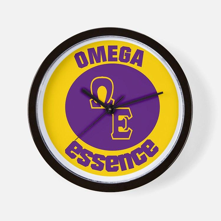 Omega Essence Oval Wall Clock