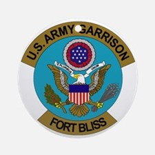 FortBliss Round Ornament