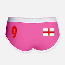 England 9 Red Women's Boy Brief
