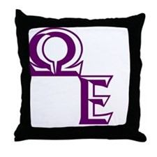 Outline QE Throw Pillow
