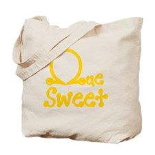 Que Sweet Knots and Pearls Tote Bag