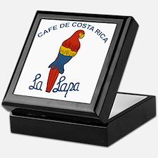Cafe de Costa Rica - La Lapa Keepsake Box