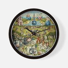 Hieronymus Bosch Garden Of Earthly Deli Wall Clock