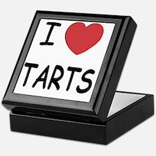 I heart tarts Keepsake Box
