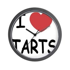 I heart tarts Wall Clock