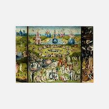 Hieronymus Bosch Garden Of Earthly 5'x7'Area Rug