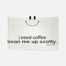 i need coffee Rectangle Magnet