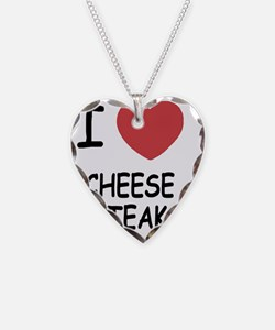 I heart cheesesteak Necklace