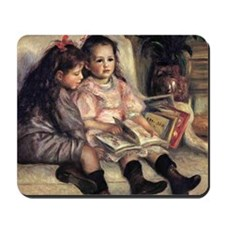 Two Children Mousepad