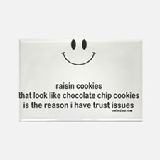 raisin cookies Rectangle Magnet