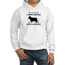 Swedish vallhund designs Hoodie