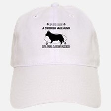 Swedish vallhund designs Baseball Baseball Cap