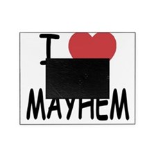 I heart mayhem Picture Frame