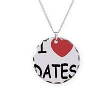 I heart dates Necklace