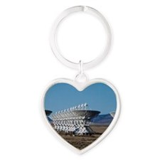 (3)Very Large Array 7511 Heart Keychain