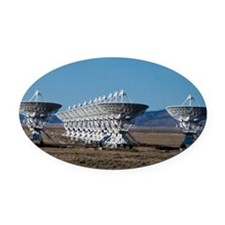 (3)Very Large Array 7511 Oval Car Magnet