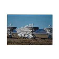(3)Very Large Array 7511 Rectangle Magnet
