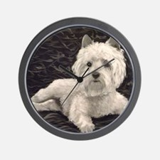 West Highland Scottie Wall Clock