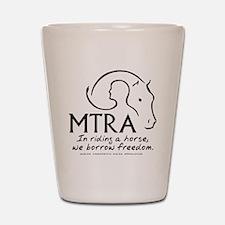 MTRA Freedom Logo Shot Glass