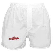 Old Red Ambulance Boxer Shorts