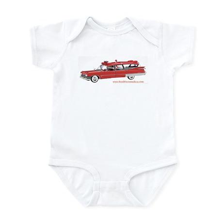 Old Red Ambulance Infant Bodysuit