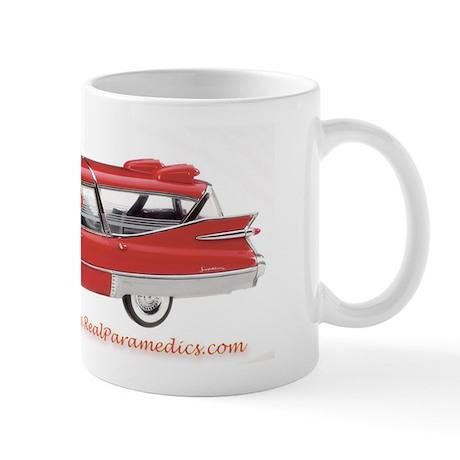 Old Red Ambulance Mug