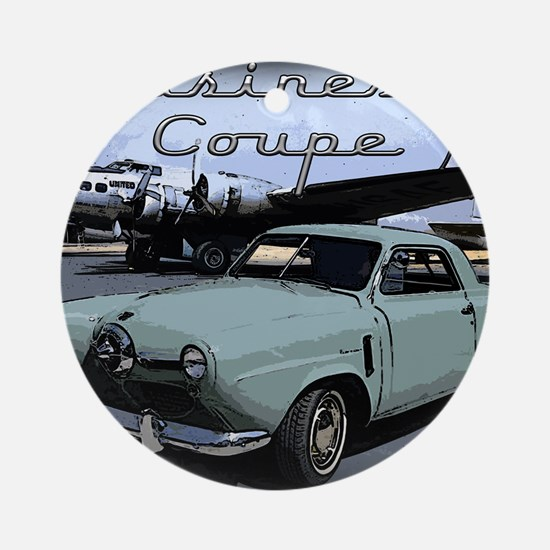 Business Coupe Round Ornament