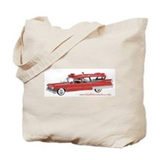 Old Red Ambulance Tote Bag