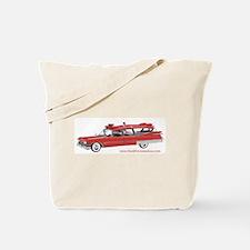 Old Red Ambulance Tote Bag