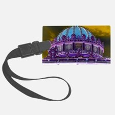 Carousel Purple Haze Luggage Tag