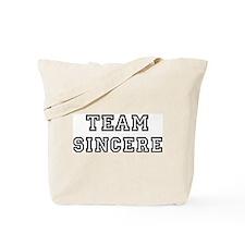 Team SINCERE Tote Bag