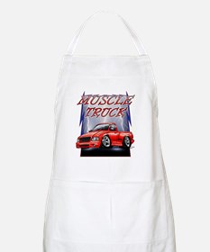 Red G@ Lightning Apron
