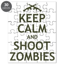 Keep Calm and Shoot Zombies Puzzle