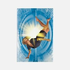 Zero gravity, artwork Rectangle Magnet