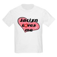 jaclyn loves me Kids T-Shirt