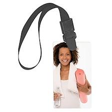 Yoga Luggage Tag