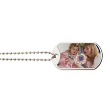 Young girl in hospital Dog Tags