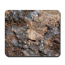 Zeolite in quartz Mousepad