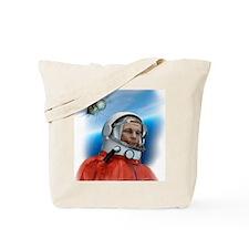 Yuri Gagarin, Soviet cosmonaut, artwork Tote Bag